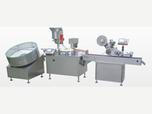 Unscrambler Filler Capper Sealer