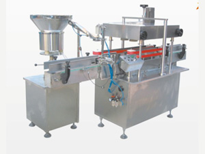 Plastic Bottle Screw Capping Machine